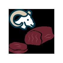 Muflon panenka uzená