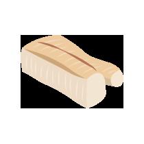 Treska filet uzený