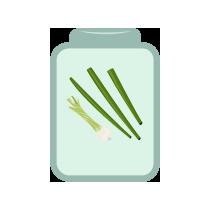 Cibulka jarní nať kvašená