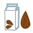 Mléko mandlové RAW