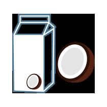 Mléko kokosové RAW