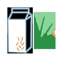 Mléko teffové