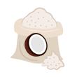 Mouka kokosová
