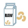 Mléko z kešu RAW