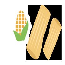 Penne kukuřičné