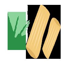 Penne teffové