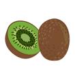 Kiwi čerstvé