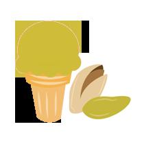 Zmrzlina pistáciová