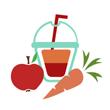 Smoothie ovoce + zelenina