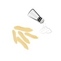 Piniové ořechy solené