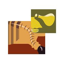 Larvy potemníka moučného fritované