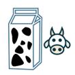 Mléko kravské polotučné 1,5%