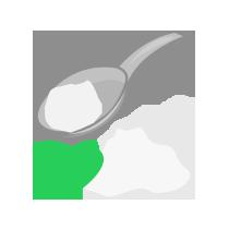 Kypřící prášek bez fosfátů