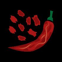 Chilli paprička sušená