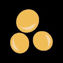 Hrách žlutý sušený