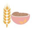 Kaše pšeničná celozrnná