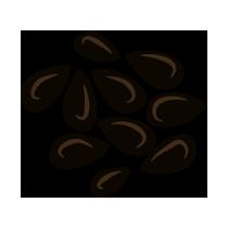 Sezam černý neloupaný