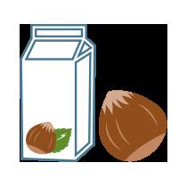 Mléko lískooříškové