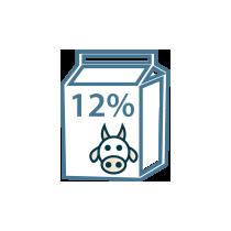 Smetana kravská zakysaná 12%