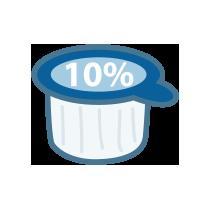 Smetana do kávy 10%