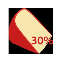 Eidam 30% t. v s.