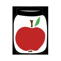 Jablko zavařené