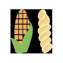 Fusilli kukuřičné