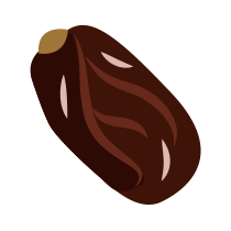 Datle sušené bez pecky