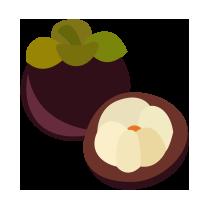 Mangostan čerstvý