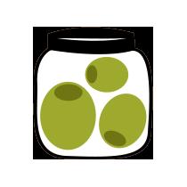 Olivy nakládané zelené