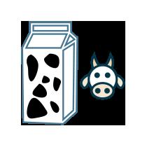 Mléko kravské odstředěné