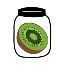 Kiwi zavařené