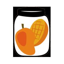 Mango zavařené