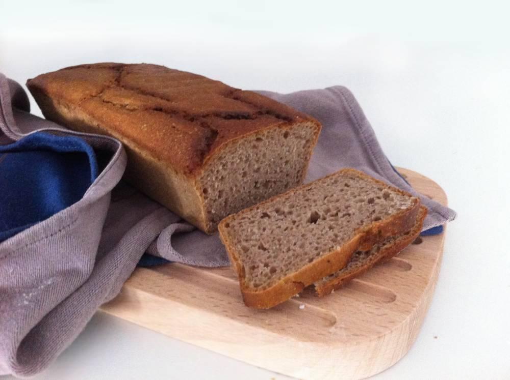 Kváskový bio žitný chléb