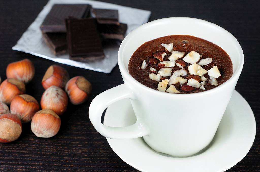 Horká proteinová čokoláda