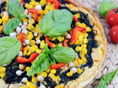 Veganská pizza