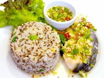 Filet z amura s rýží