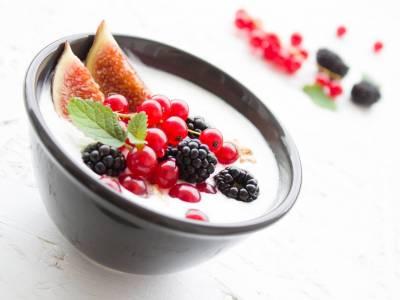 Rýžová kaše s ovocem a fíky