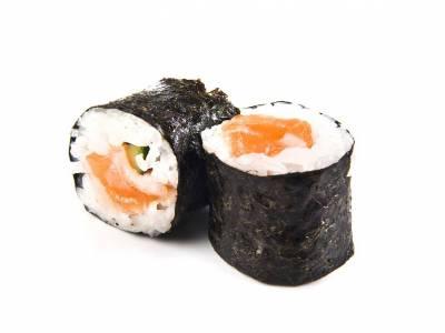 Maki sushi s lososem