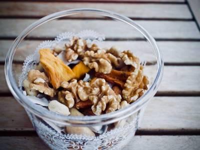 Sušené ovoce s ořechy