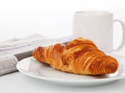 Croissant s mlékem