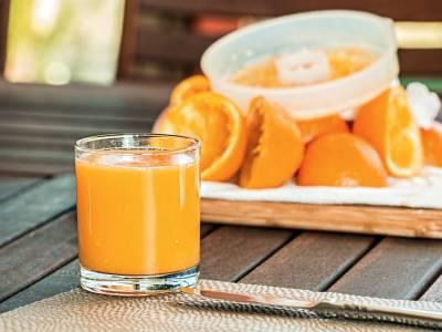Pomerančový fresh