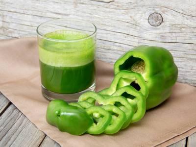 Šťáva ze zelené papriky