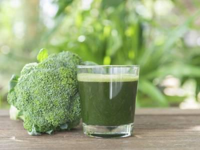 Šťáva z brokolice