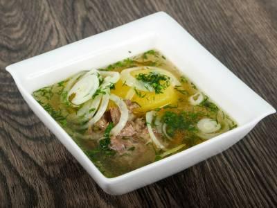 Kavkazská masová polévka (Haslama)